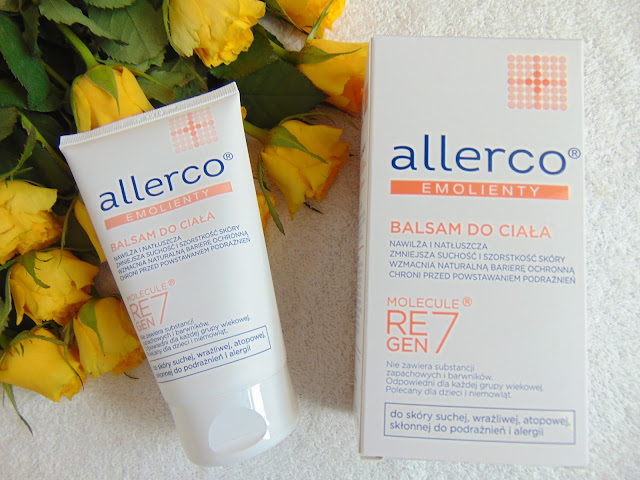 Allerco Emolienty - Balsam do ciała - Skóra sucha, wrażliwa, atopowa, skłonna do podrażnień i alergii