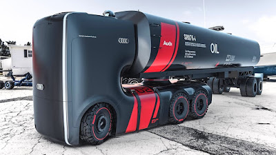 Future concept design for Audi truck