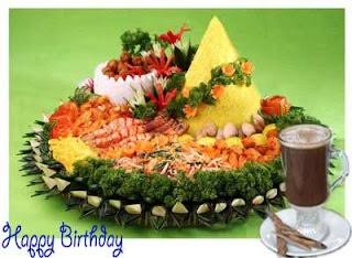 Gambar Tumpeng Selamat Ulang Tahun Happy B Day For Dp
