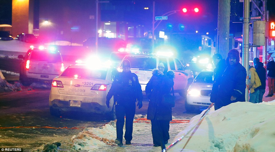 5 people dead, 2 people arrested in Quebec Mosque shooting