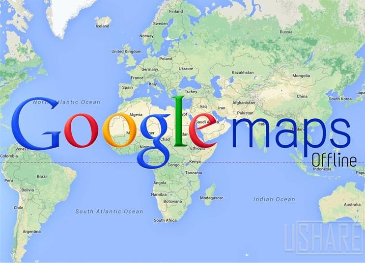 Gambar Fitur Baru Google Maps, Sekarang Bisa Offline!
