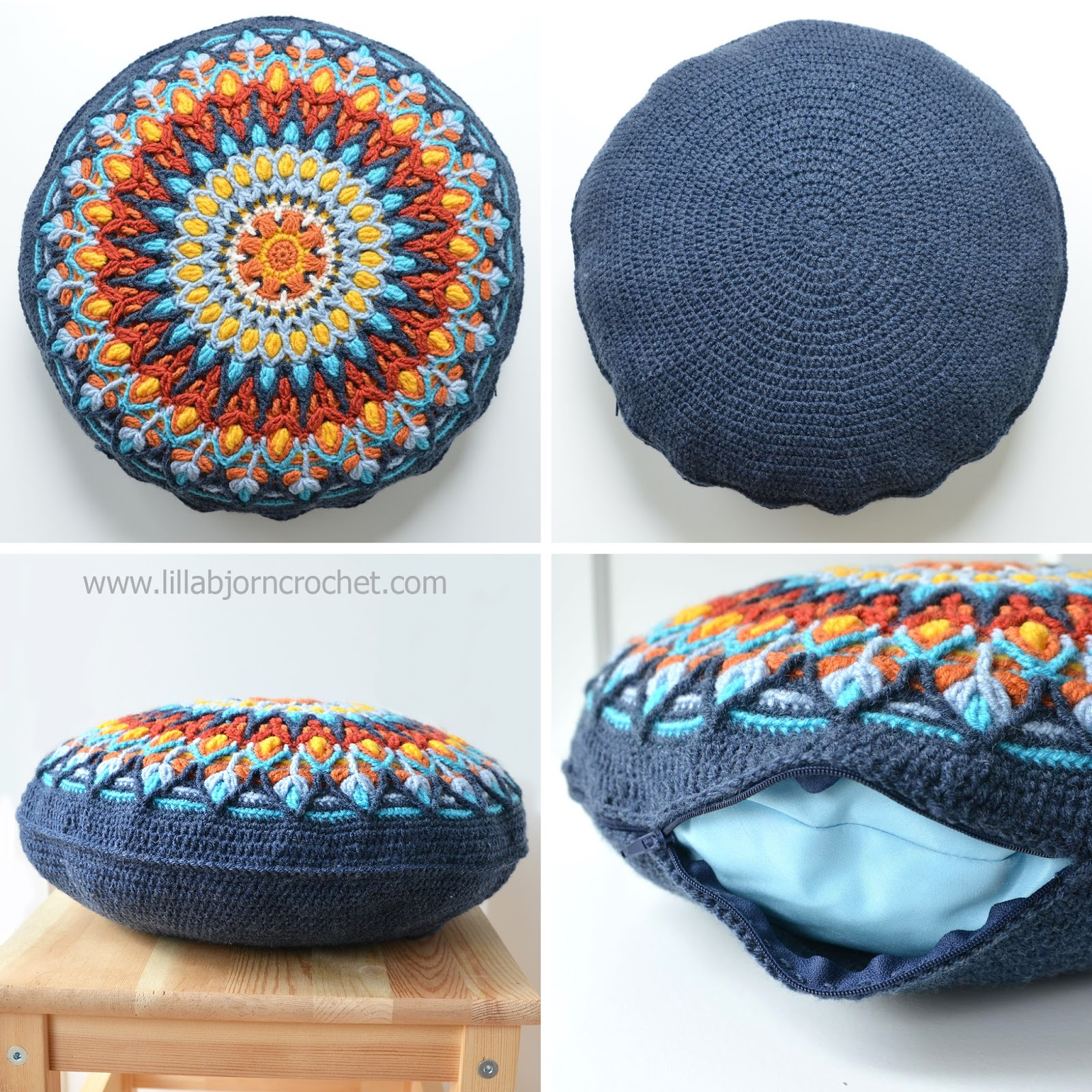 How To Make A Round Pillow - Round Designs