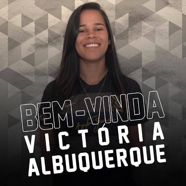 De um campeão para outro: Victória Albuquerque, ex-Minas ICESP, é a nova jogadora do Corinthians