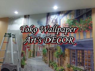 Jasa Pemasangan Wallpaper Dinding Di Tangerang