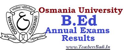 OU, BEd Exams, Results