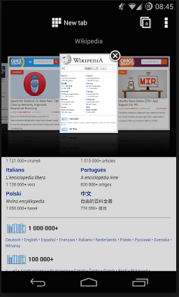 cara setting opera mini opmin handler apk untuk android