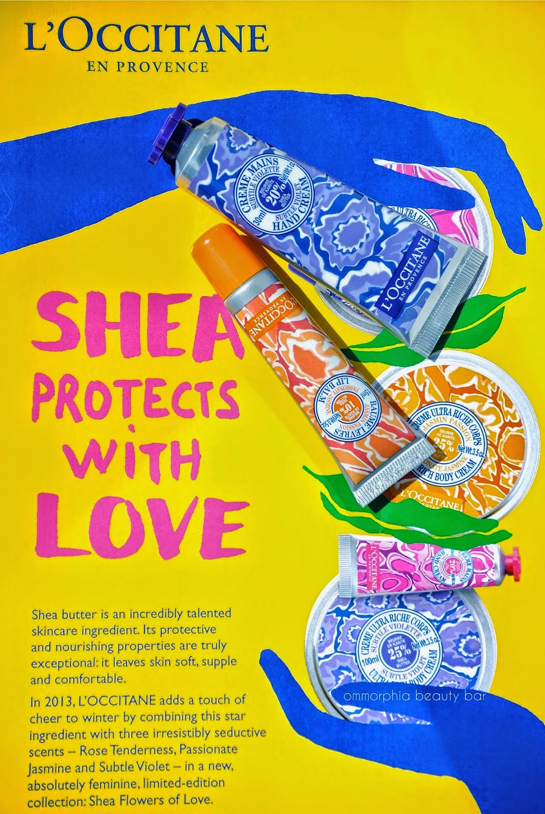 L'Occitane Limited Edition Shea Flowers of Love Collection