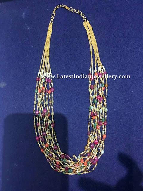 Navaratna Beads Mala