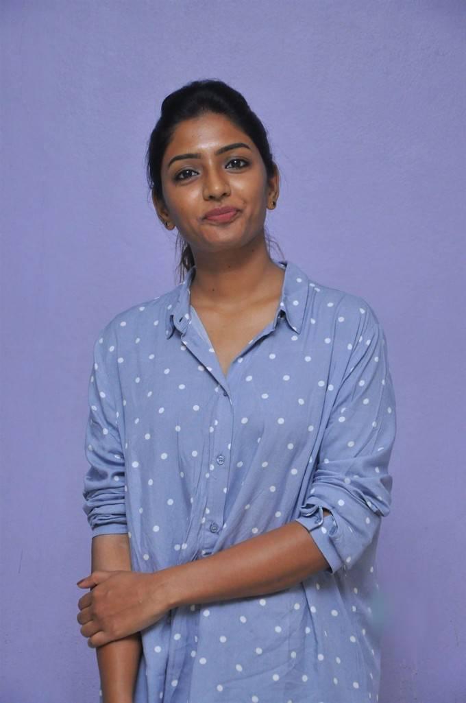 Actress Eesha At Darshakudu Movie Success Meet Gallery