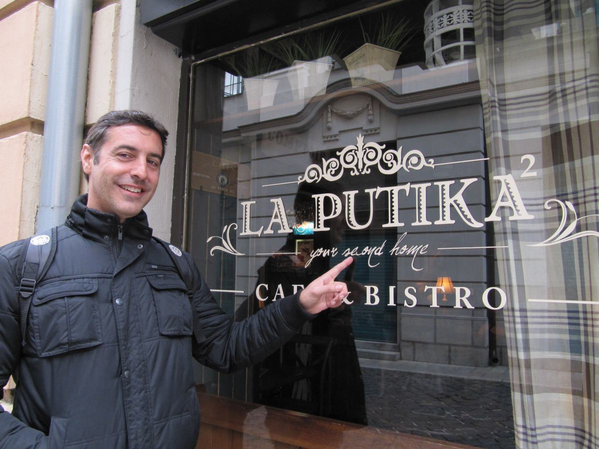 bar la Putika de Bratislava
