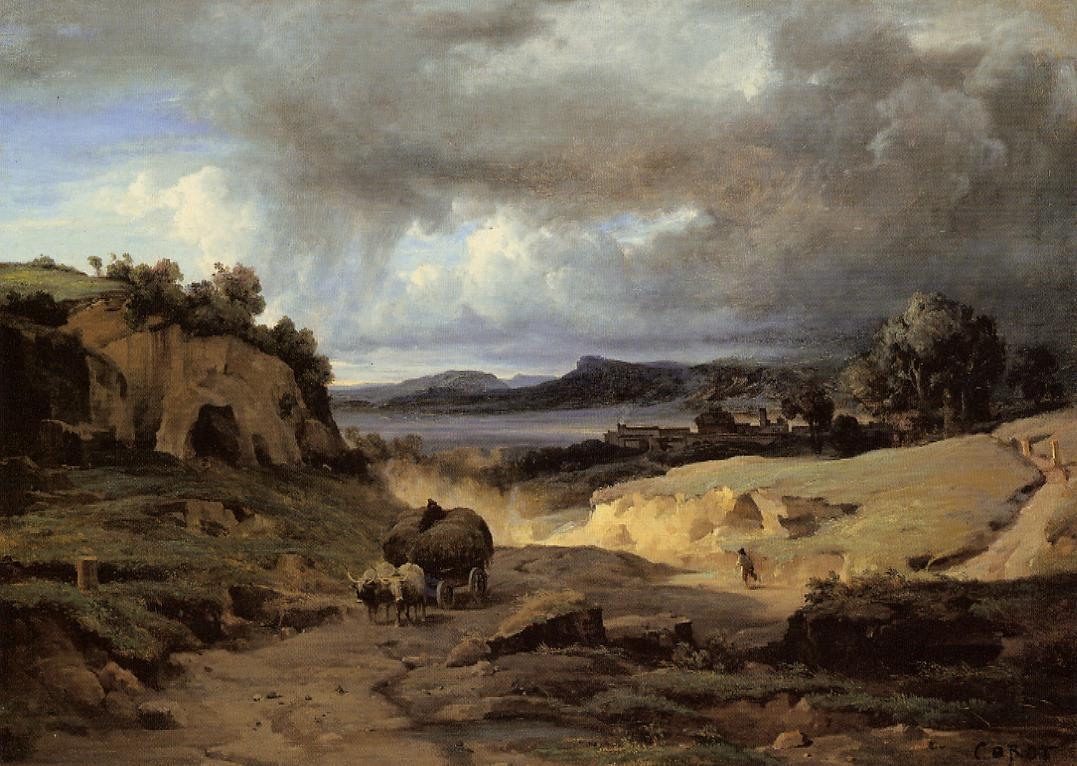 Art artists camille corot part 2 for Camille corot