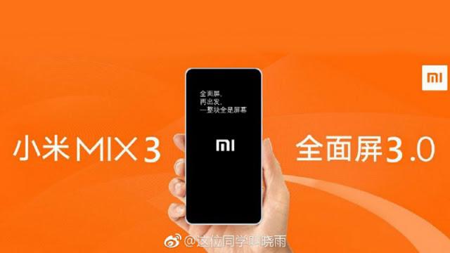 Mi Mix 3 - Xiaomi