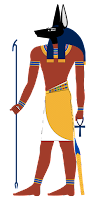 Anubis, Egyptian jackal-headed god