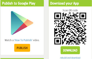 Publish android apps