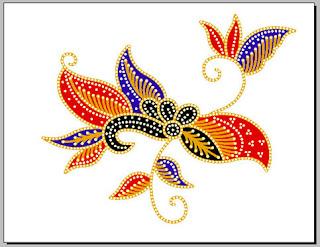 aanseries design merangkai design batik