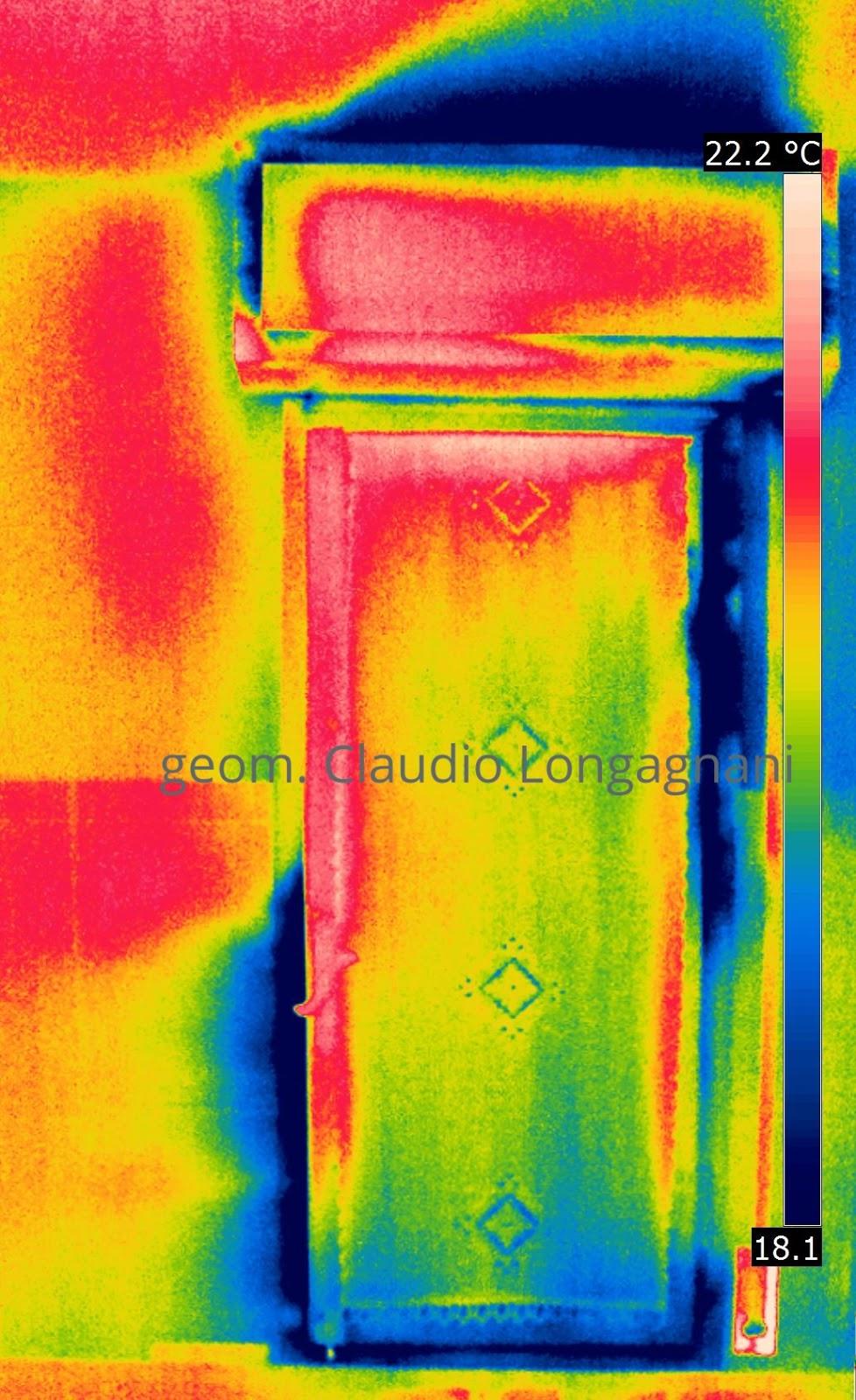 Termografia sostituzione dei serramenti prima e dopo for Telaio della finestra progetta il design della casa