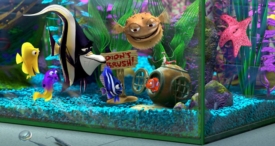 Digitista MediaWave: Catch FINDING NEMO in Spectacular 3D ...