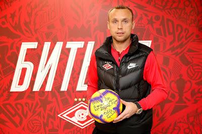 Мяч, которым Глушаков забил 1500-й гол «Спартака» в РПЛ, передан в клубный музей