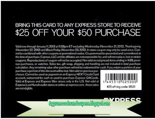 Free Printable Express Coupons