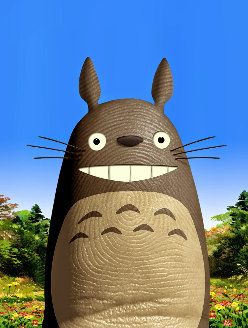 10-Totoro-Dito-von-Tease-Portraits-on-a-Finger-www-designstack-co