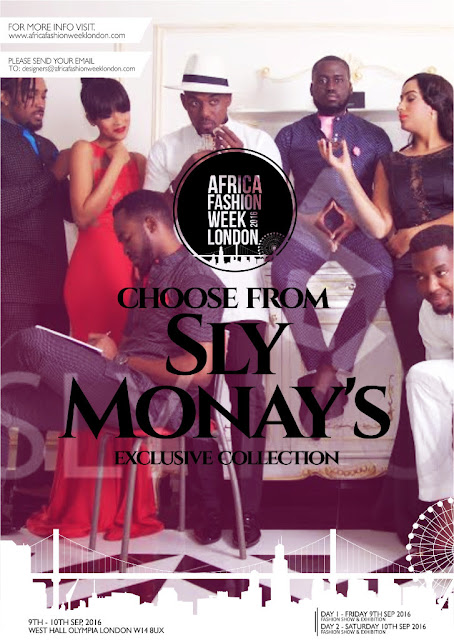 Sly Monay to showcase at Africa Fashion Week London 2016