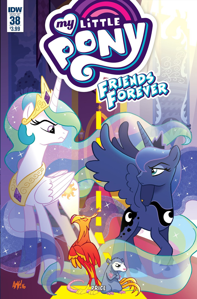 Mlp Friends Forever Issue 38 Comic Covers Mlp Merch