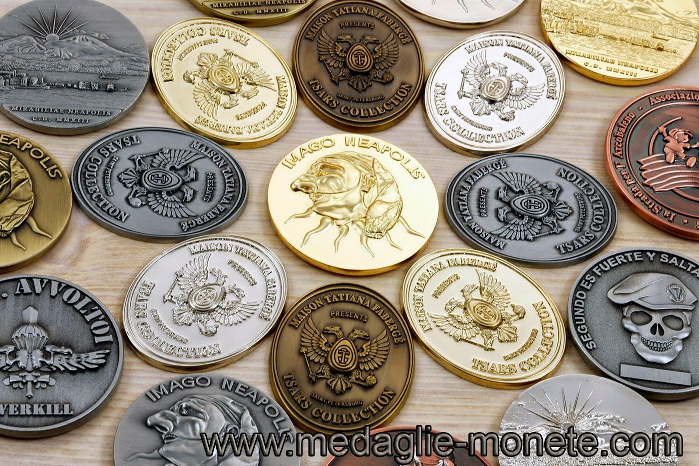 Monete personalizzate e commemorative : http://www.medaglie-monete.com