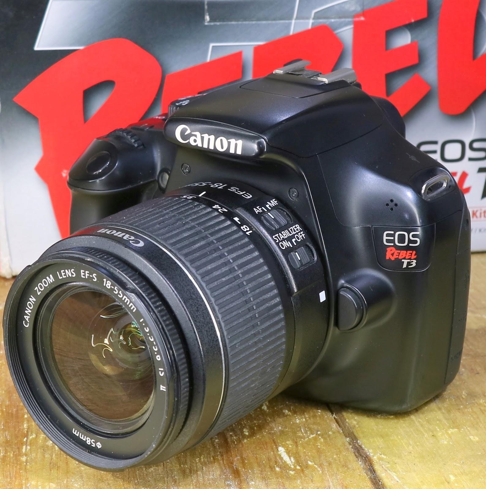 Jual Kamera Canon Eos Rebel T3 1100d Fullset Jual Beli Laptop