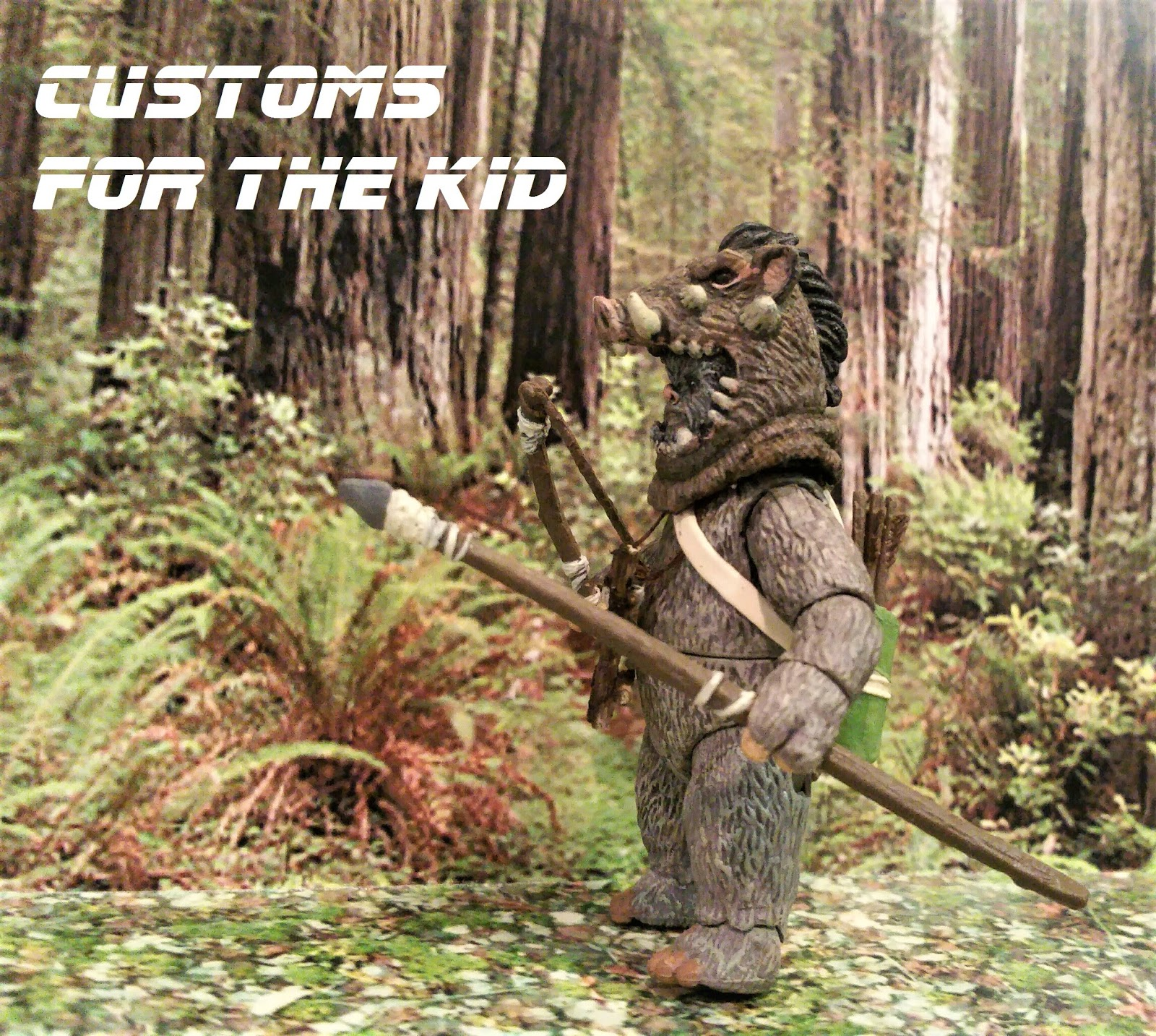 Star wars customs for the kid rotj ewok created by - Ewok wallpaper ...