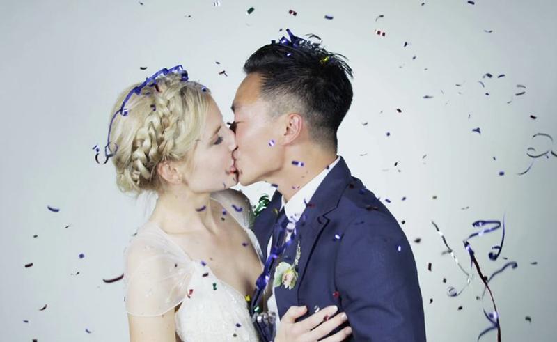 Ellie Konig and Quang Dinh Know How To Do A Wedding Video
