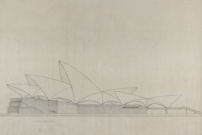 Sydney Opera House Original Drawing