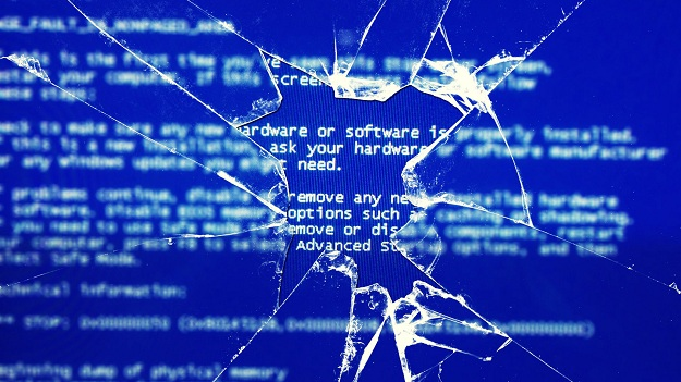 Crack Screen Windows Blue Screen of death:Intelligent Computing