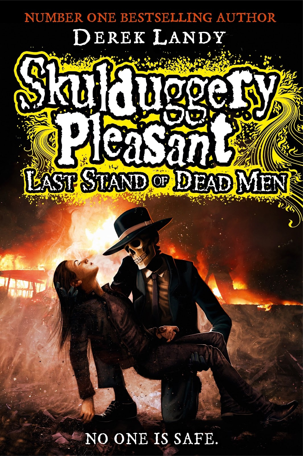 The Book Zone Review Skulduggery Pleasant Last Stand Of