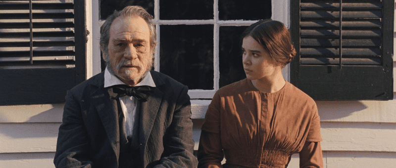 the homesman-tommy lee jones-hailee steinfeld