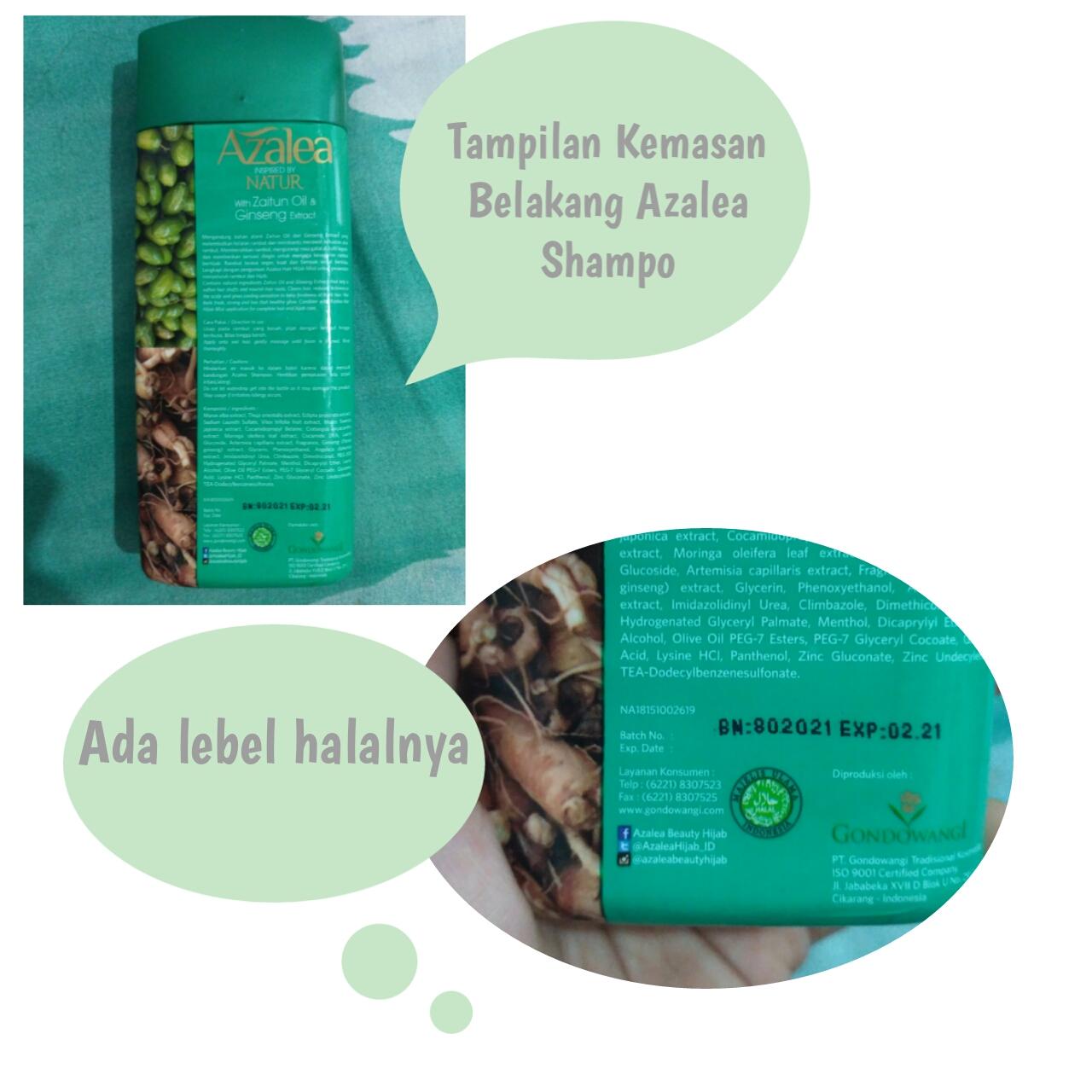 Review Jujur Azalea Shampo Hijab Care Hair And Body Mist