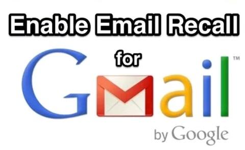 किसी को भेजा गया ई-मेल वापस कैसे लाये -आसान तरिका _Enable email recall for gmail