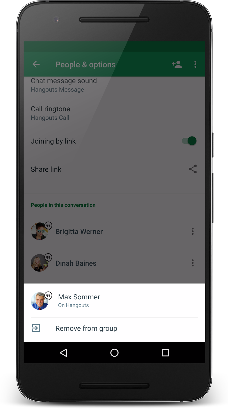 G Suite Updates Blog: Better group chat controls are coming