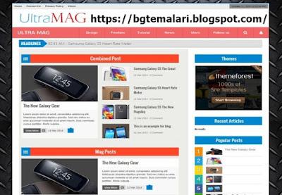 Ultra Mag Blogger