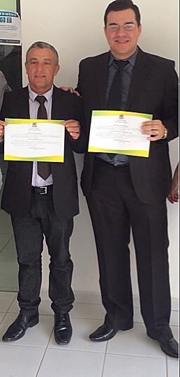 Prefeito, vice e vereadores eleitos em Rafael Fernandes são diplomados