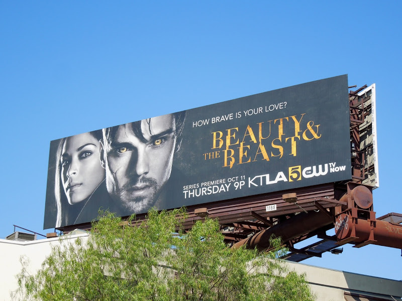 Beauty Beast 2012 billboard