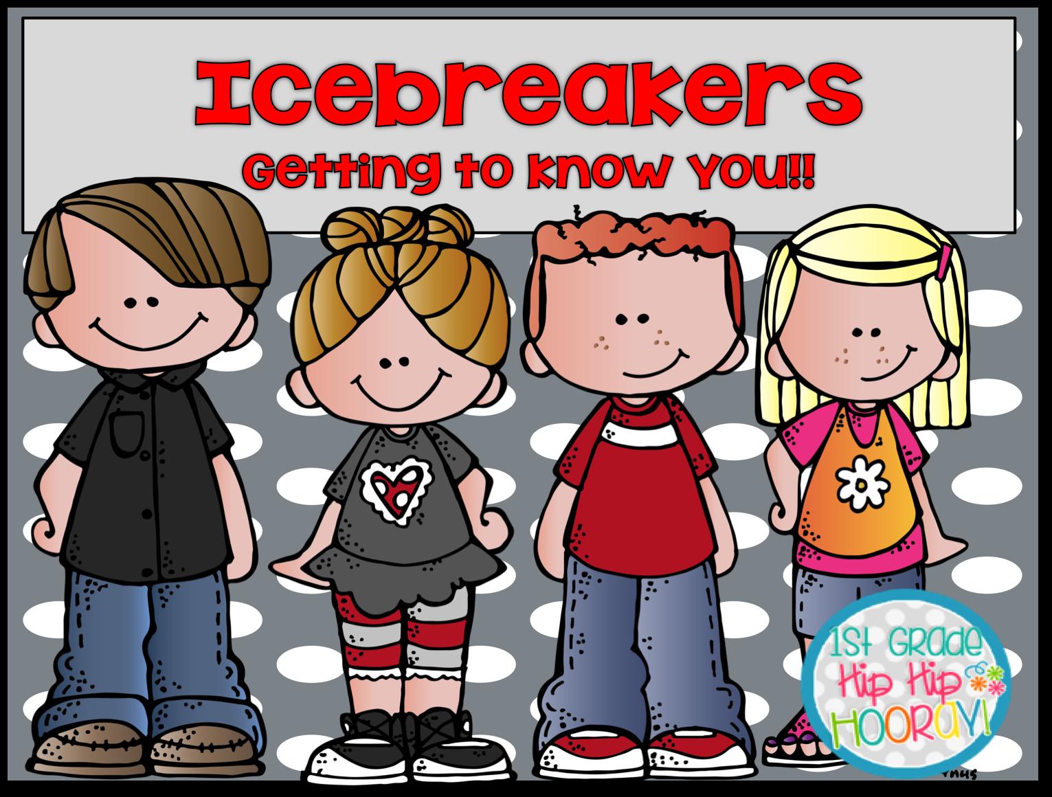 1st Grade Hip Hip Hooray Icebreakers For Back To School