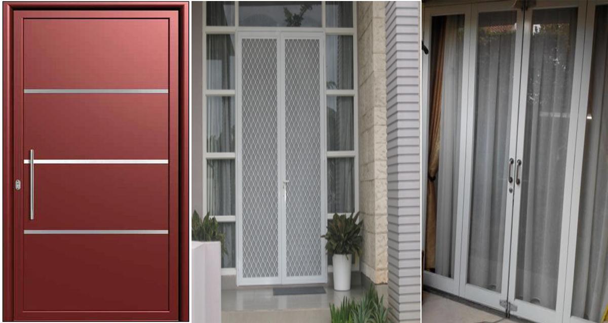 aluminium kaca pintu aluminium atau kayu aluminium kaca blogger