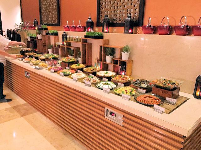 Fairmont Ausschnitt Abendbuffet (C) Kundenfoto