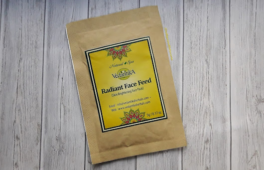 Rejuvinate Your Winter Skin With -Vedantika Herbals Radian Face Feed Skin Brightening Face Pack
