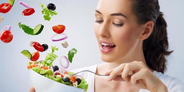 diet dengan sayur dan buah
