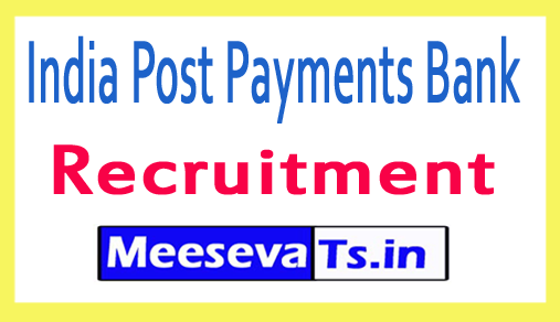 India Post Payments Bank IPPB Recruitment