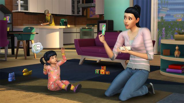 Con la actualización de los infantes en los Sims podrás vivir momentos tiernos y conmovedores