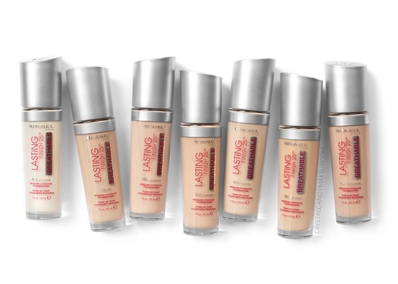 Rimmel Lasting Finish Breathable Foundation 001 100 101 102 103 200 201