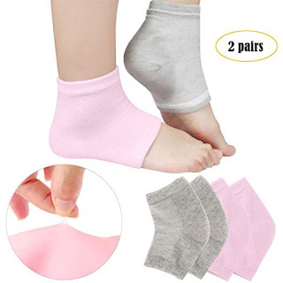 codream vented moisturizing gel heel socks