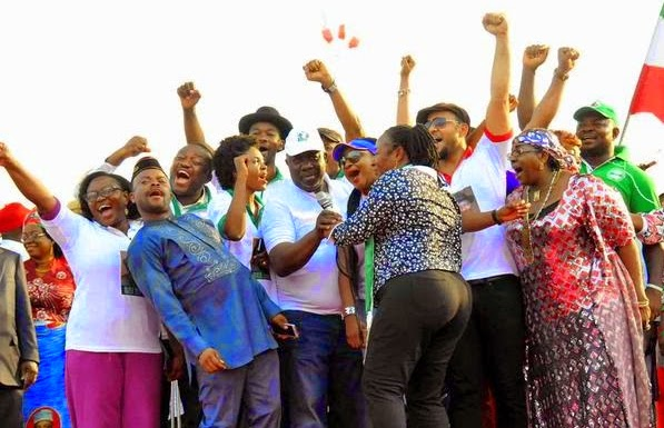 nollywood celebrities campaign jonathan